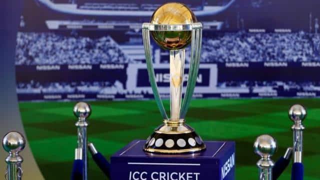 icc cricket world cup trophy  reuters