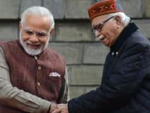 लोकसभा चुनाव के नतीजों पर आडवाणी ने दी प्रधानमंत्री मोदी को बधाई