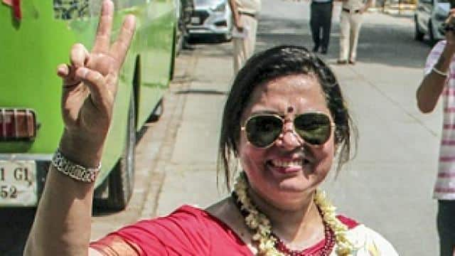 bjp candidate from new delhi constituency meenakshi lekhi  file photo