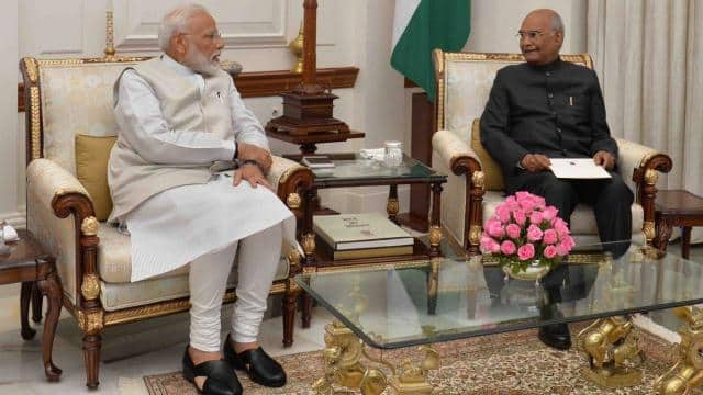 president accepts pm narendra modi resignation