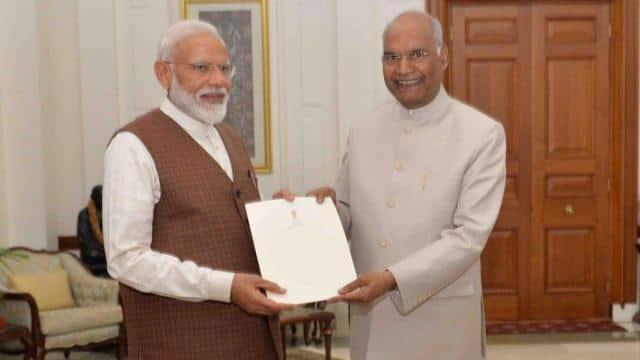 pm narendra modi president ramnath kovind   ani
