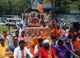 जमशेदपुर में दूसरी बार जीत पर भाजपा की आभार यात्रा, गूंजा वंदेमातरम