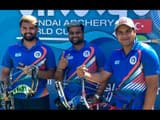 aman saini abhishek verma and rajat chauhan won bronze medal for india in archery world cup 2019