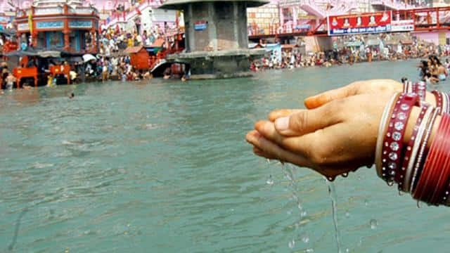 ganga jal  photo- the sentinel