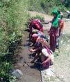 पंचूर में महिलाओं ने वर्षा जल संग्रहण को चलाया अभियान