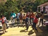 प्रतिभा दिवस पर बच्चों ने की मौज-मस्ती