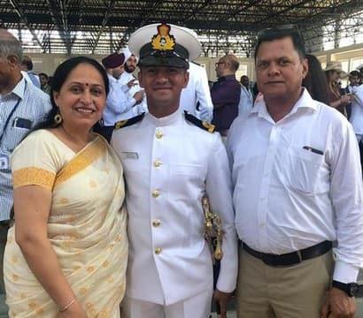 रुड़की के मानस्वी बने नौसेना में अफसर