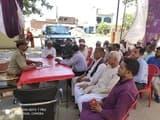 ईद के त्योहार को लेकर हुई पीस कमेटी की मीटिंग
