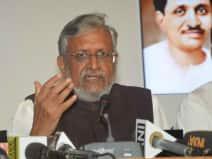 गलती मानने के बजाए जनादेश को साजिश बता रहा विपक्ष : सुशील मोदी