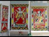 bhagalpur famous folk paintings art manjusha