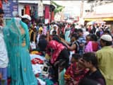 bhagalpur  buzzing of public in shops for eid festival