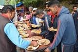 सोमवती अमावस्या पर शनि मंदिर में धार्मिक अनुष्ठान