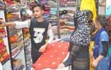 ईद की खरीदारी से बाजारों में बढ़ी रौनक