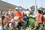 संस्थाओं को साथ लेकर प्रशासन ने चलाया रोड़ीबेलवाला में स्वच्छता अभियान