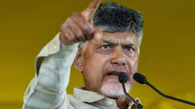 telugu desham party chief n  chandrababu naidu  file pic