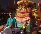 धूमधाम से निकाली भगवान खाटूश्याम की शोभायात्रा