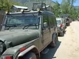 jammu   kashmir  an exchange of fire is underway between terrorists and security forces in verinag o