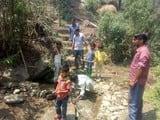 काफलीगैर के जाठा गांव में पेयजल संकट गहराया