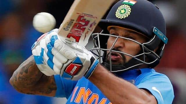 shikhar dhawan ruled out from world cup photo ht