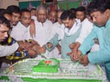 rjd workers celebrating lalu yadav birthday