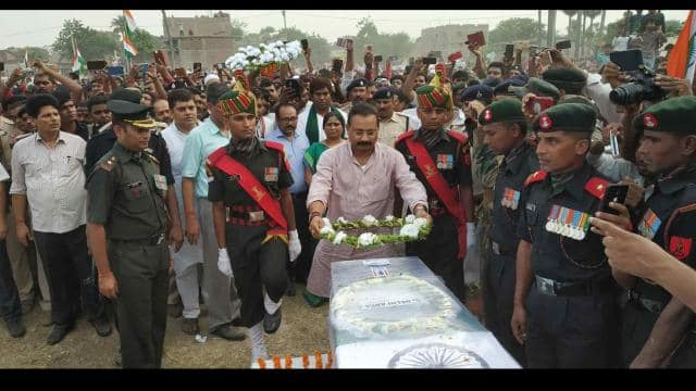 martyr lance naik who shaheed in encounter with pakistan terrorist in jammu and kashmir