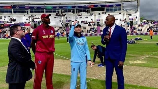 England vs West Indies Toss