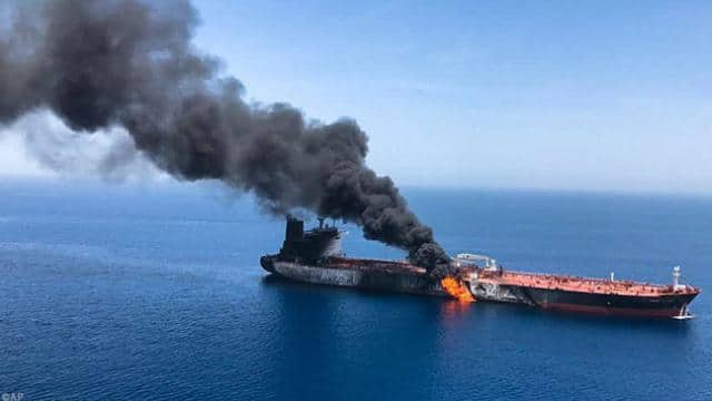 gulf of oman   mikepompeo twitter 13 june 2019