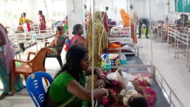 child death continues due to chamki fever in muzaffarpur  bihar  file pic