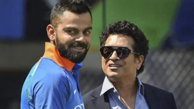 virat kohli and sachin tendulkar photo ht