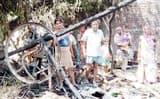बीसलपुर में 11 घरों में लगी आग से लाखों का सामान जला