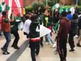 pakistan fans started cheers on dhoni wicket