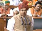 parvesh verma takes oath as member of the 17th lok sabha   photo credit   delhi bjp twitter