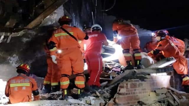 earthquake in china  afp photo