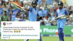 tweets during india vs pakistan match