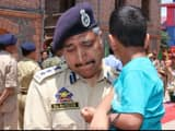 srinagar senior superintendent of police haseeb mughal held the son of arshad khan  who was killed