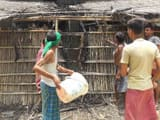 sturdy people set fire to neighbor house due to minor controversy in khagaria