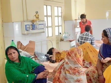 बेड़ पर ही मरीजों को पाइप लाइन ऑक्सीजन सेवा शुरू
