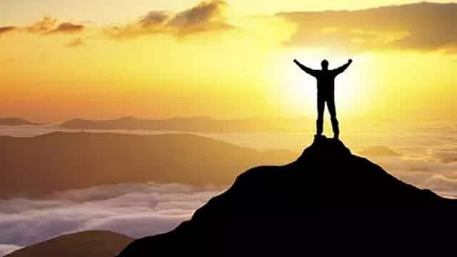 success mantra  symbolic image