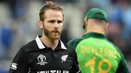 kane williamson and faf du plessis  afp