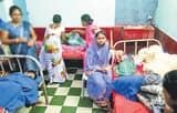 सकरा के मछही गांव में चमकी बुखार से 10 बच्चे पीड़ित