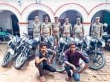 मेजा में छह चोरी की बाइक संग दो गिरफ्तार