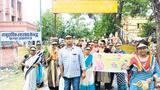 पल्स पोलियो सप्ताह की तैयारी, निकाली रैली