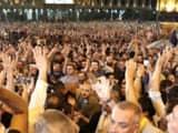 georgia protests  reuters