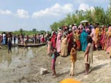 saharsa  including grandfather and granddaughter five drowen in kosi river in which two dead body re