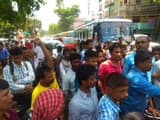 bhagalpur  angry people protested against power crisis and did sabour road jam