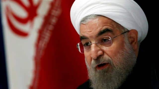iran s president hassan rouhani  file pic