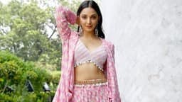 kiara advani urprised everyone see her pink dress look