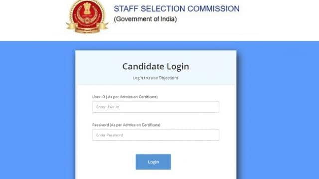 ssc cgl 2018 tier 1 answer key released