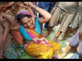 supaul  death of girl child from drowned during bathing in canal