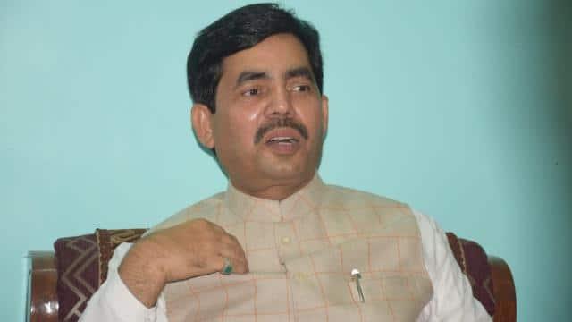 bjp leader and national spokesperson shahnawaz hussain at supaul